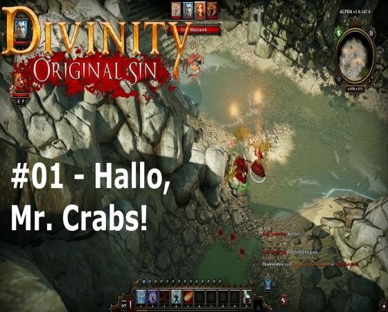 Let's Test Together – Divinity: Original Sin – #01 – Hallo, Mr. Crabs!