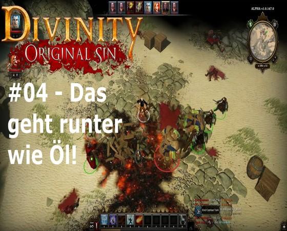 Let's Test Together – Divinity: Original Sin – #04 – Das geht runter wie Öl!