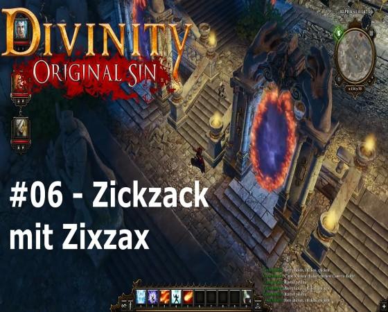 Let's Test Together – Divinity: Original Sin – #06 – Zickzack mit Zixzax