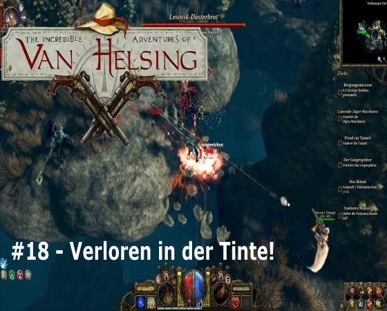 The Incredible Adventures Of Van Helsing – #18 – Vorloren in der Tinte!
