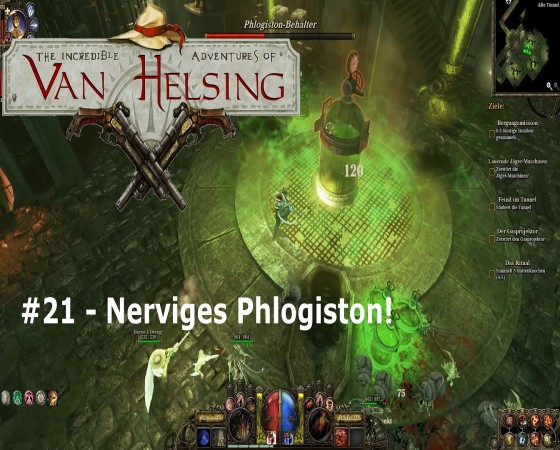 The Incredible Adventures Of Van Helsing – #21 – Nerviges Phlogiston!