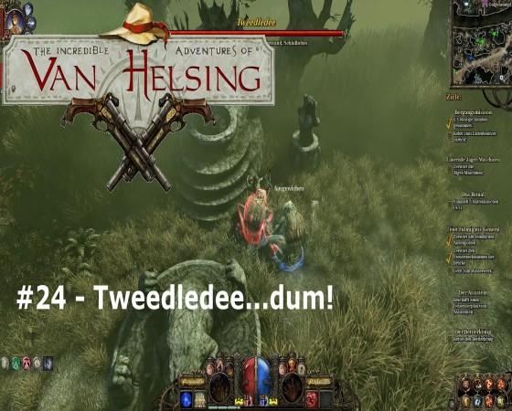 The Incredible Adventures Of Van Helsing – #24 – Tweedledee…dum!