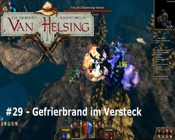 The Incredible Adventures Of Van Helsing – #29 – Gefrierbrand im Versteck