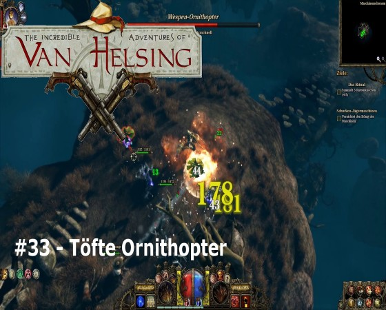 The Incredible Adventures Of Van Helsing – #33 – Töfte Ornithopter