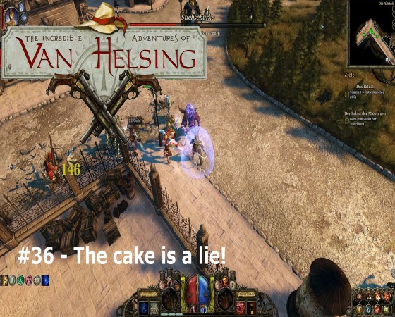 The Incredible Adventures Of Van Helsing – #36 – The cake is a lie!