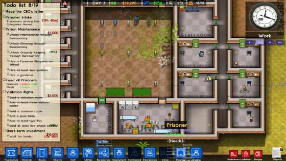 Let's Test – Prison Architect – #05 – Schmutzige Wäsche!