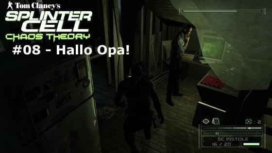 Splinter Cell: Chaos Theory – #08 – Hallo Opa!