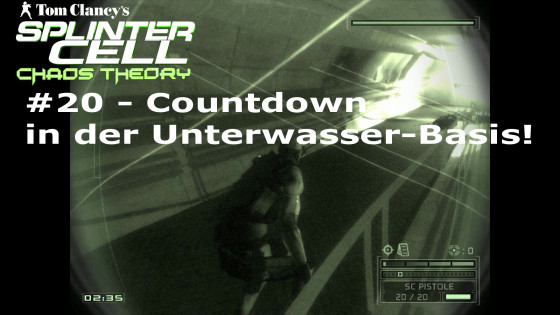 Splinter Cell: Chaos Theory – #20 – Countdown in der Unterwasser-Basis!