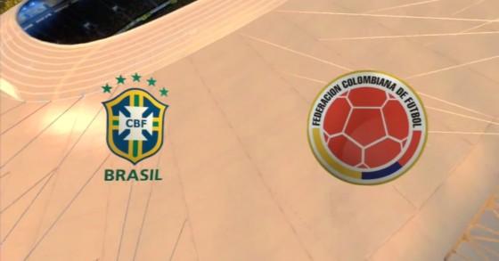 FIFA WM 14 – Brasilien vs. Kolumbien
