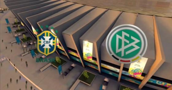 FIFA WM 14 – Brasilien vs. Deutschland