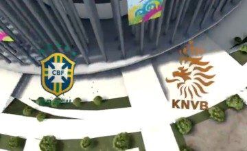 FIFA WM 14 – Brasilien vs. Niederlande