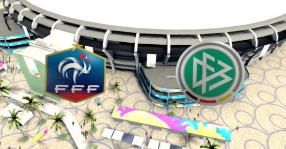 FIFA WM 14 – Frankreich vs. Deutschland