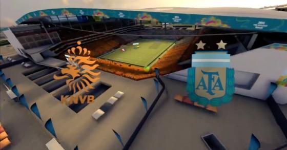 FIFA WM 14 – Niederlande vs. Argentinien