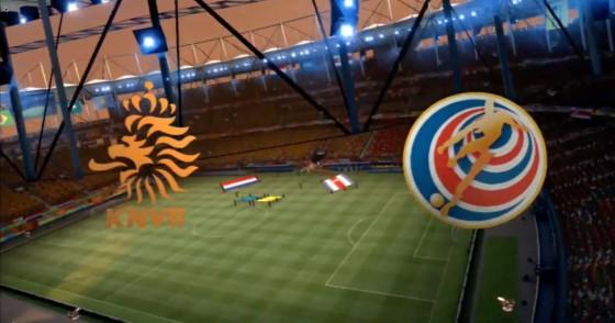 FIFA WM 14 – Niederlande vs. Coste Rica