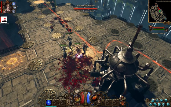 The Incredible Adventures Of Van Helsing  2 – #15 – Cheese-O-Floor