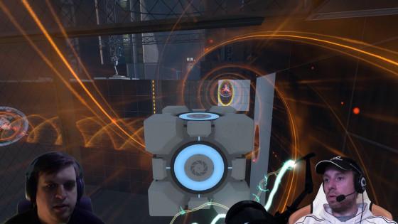 Portal 2, Co-op – [Doppel-Facecam] – #11 – Vorwärts immer, rückwärts nimmer!