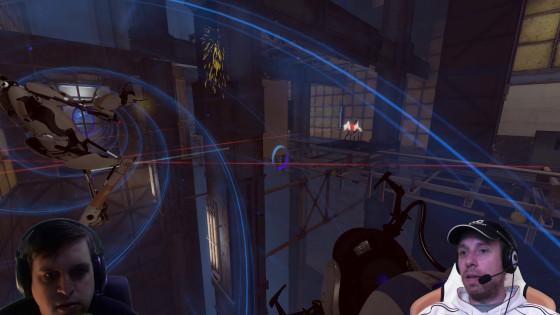 Portal 2, Co-op – [Doppel-Facecam] – #12 – Ziemlich beschossen!