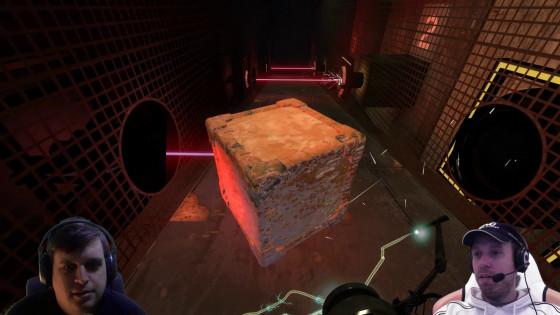Portal 2, Co-op – [Doppel-Facecam] – #16 – Flutschkiste und Hüpfturrets!