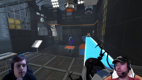 Portal 2, Co-op – [Doppel-Facecam] – #18 – Glibber-Malerei!