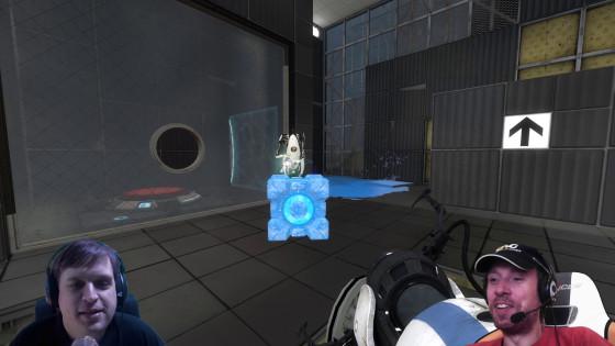 Portal 2, Co-op – [Doppel-Facecam] – #21 – Fang die Kiste!