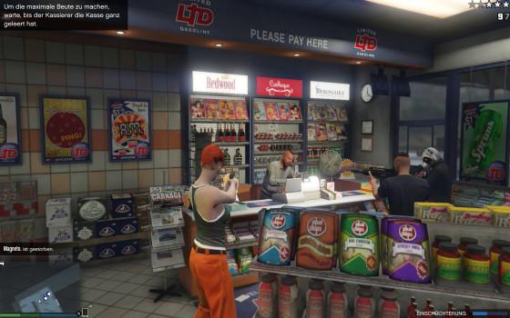 GTA V Online – #06 – Oh Mann, ich hab Marvin ins Gesicht geschossen!