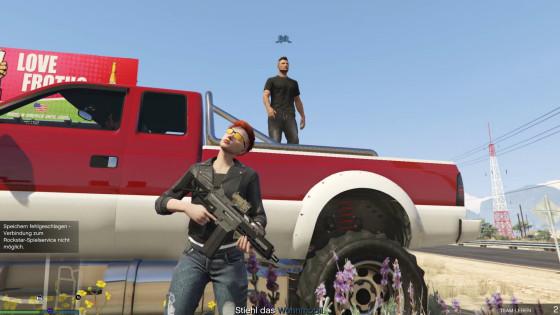 GTA V Online – #09 – Ein Fall für Fjalk!