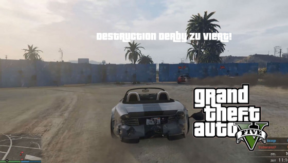 GTA V Online- #17 – Destruction Derby zu viert!