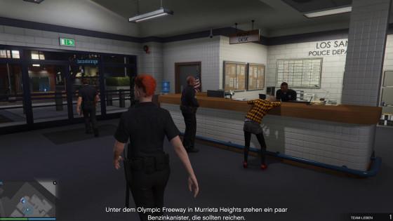 GTA V Online – #30 – Donut-Party bei der Polizei!