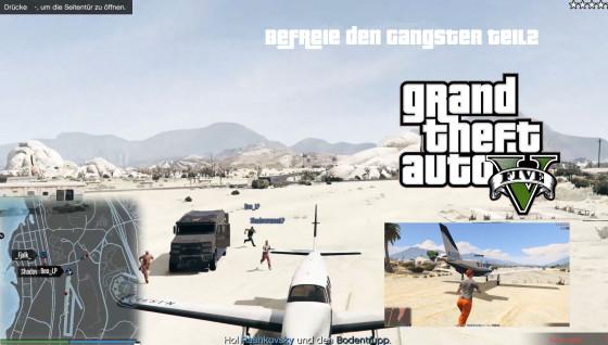 GTA V Online- #33 – Befreie den Gangster Teil2