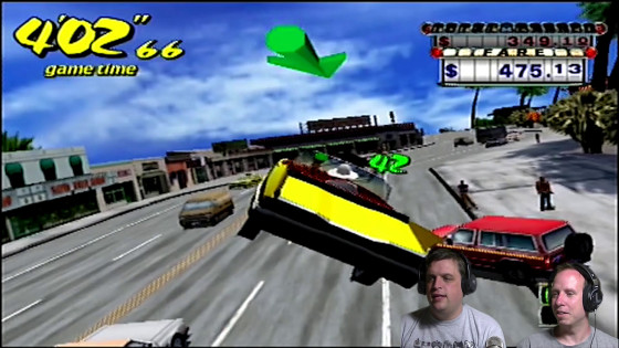 Bacon vs. Shadow: The Challenge – #01 – Crazy Taxi
