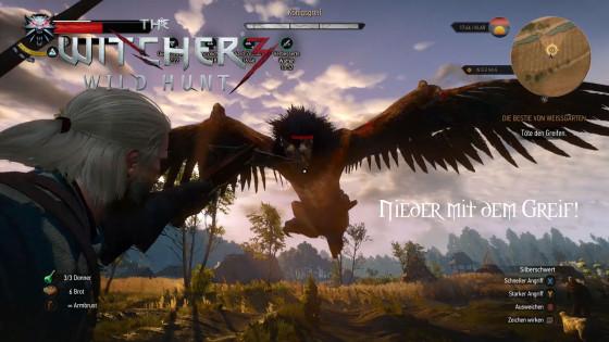 Witcher 3: Wild Hunt – #10 – Nieder mit dem Greif!