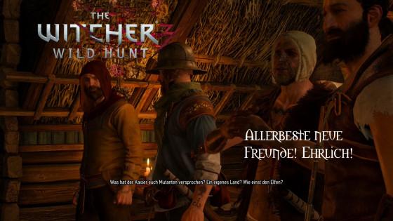 Witcher 3: Wild Hunt – #11 – Allerbeste neue Freunde! Ehrlich!