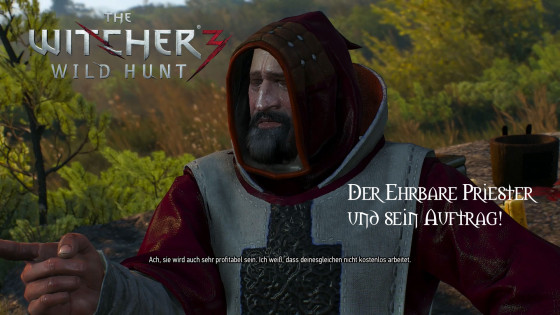 Witcher 3: Wild Hunt – #13 – Der ehrbare Priester und sein Auftrag!