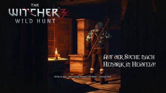 Witcher 3: Wild Hunt – #14 – Auf der Suche nach Hendrik in Heidfeld!