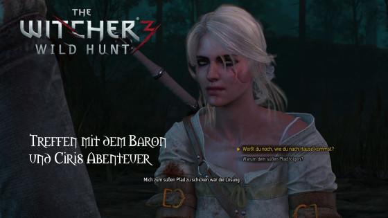Witcher 3: Wild Hunt – #15 – Treffen mit dem roten Baron und Ciris Abenteuer