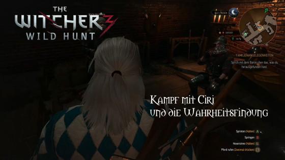 Witcher 3: Wild Hunt – #16 – Kampf mit Ciri und die Wahrheitsfindung