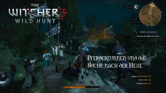 Witcher 3: Wild Hunt – #17 – Pferderennen und die Suche nach der Hexe