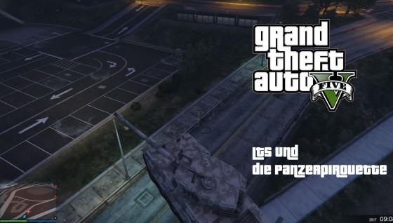 GTA V Online- #70 – LTS und die Panzerpirouette