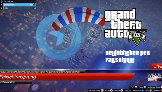 GTA V Online- #72 – Geldabheben per Fallschirm