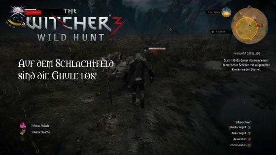 Witcher 3: Wild Hunt – #8 – Auf dem Schlachtfeld sind die Ghule los!