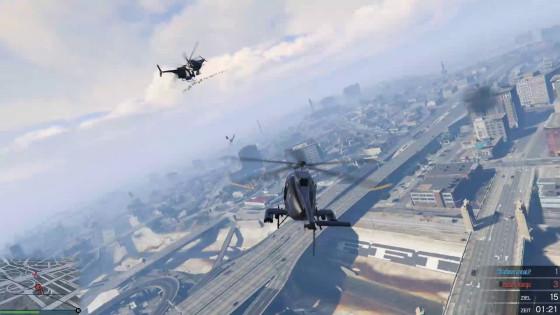 GTA V Online – #71 – Mit Lenkraketen wäre das nicht passiert!
