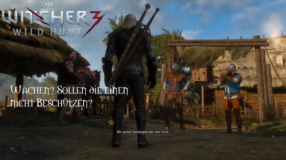 Witcher 3: Wild Hunt – #2 – Wachen? Sollen die einen nicht beschützen?