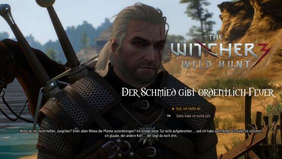 Witcher 3: Wild Hunt – #3 – Der Schmied gibt ordentlich Feuer