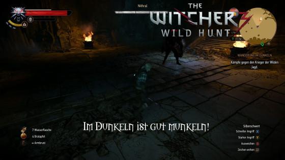 Witcher 3: Wild Hunt – #19 – Im Dunkeln ist gut munkeln!