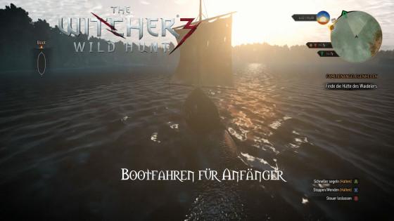 Witcher 3: Wild Hunt – #20 – Bootfahren für Anfänger