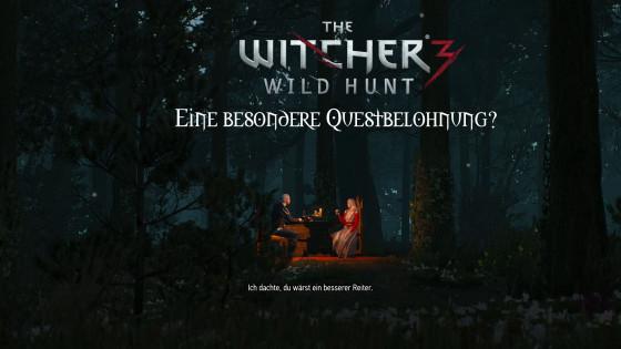 Witcher 3: Wild Hunt – #23 – Eine besondere Questbelohnung?