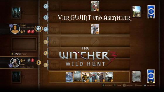 Witcher 3: Wild Hunt – #30 – Vier GWINT und Abenteuer