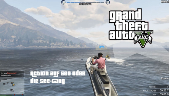 GTA V Online- #82 – Action auf See oder die SEE-GANG