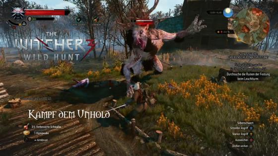 Witcher 3: Wild Hunt – #47 – Kampf dem Unhold