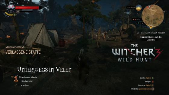 Witcher 3: Wild Hunt – #48 – Unterwegs in Velen
